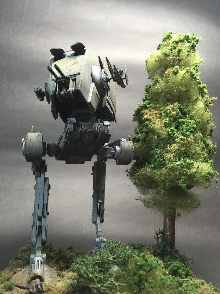 Diorama  Bandai X Star Wars 1  48 At