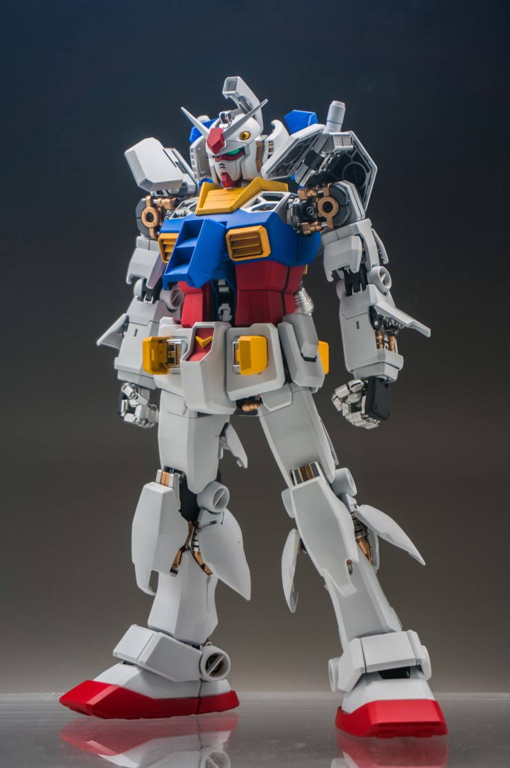 Pg Rx 78 2 Gundam Ver Original All Clear Half Color Latest Work By Huidong Full Review Hi Res