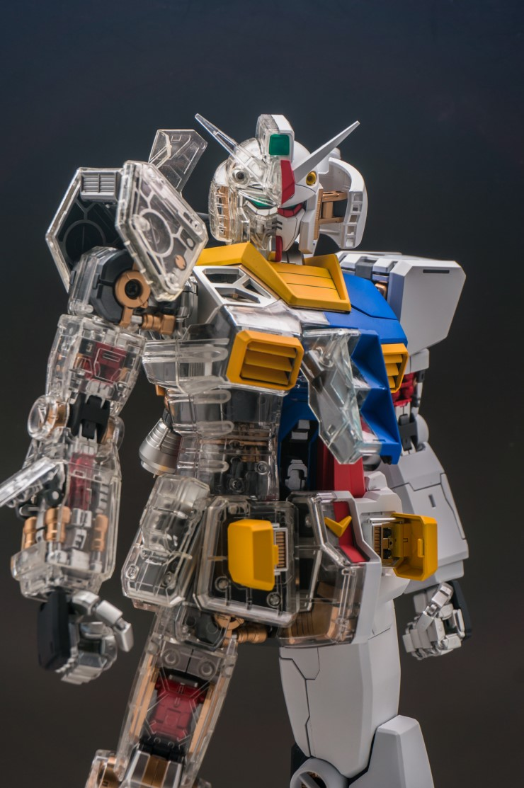 PG RX-78-2 Gundam [Ver.Original/All Clear/Half Color