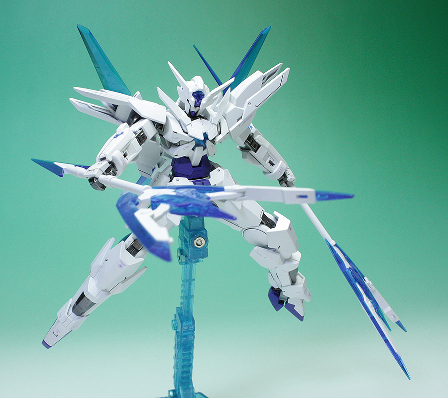 Hgbf 1  144 Transient Gundam Assembled  Painted  Photoreview