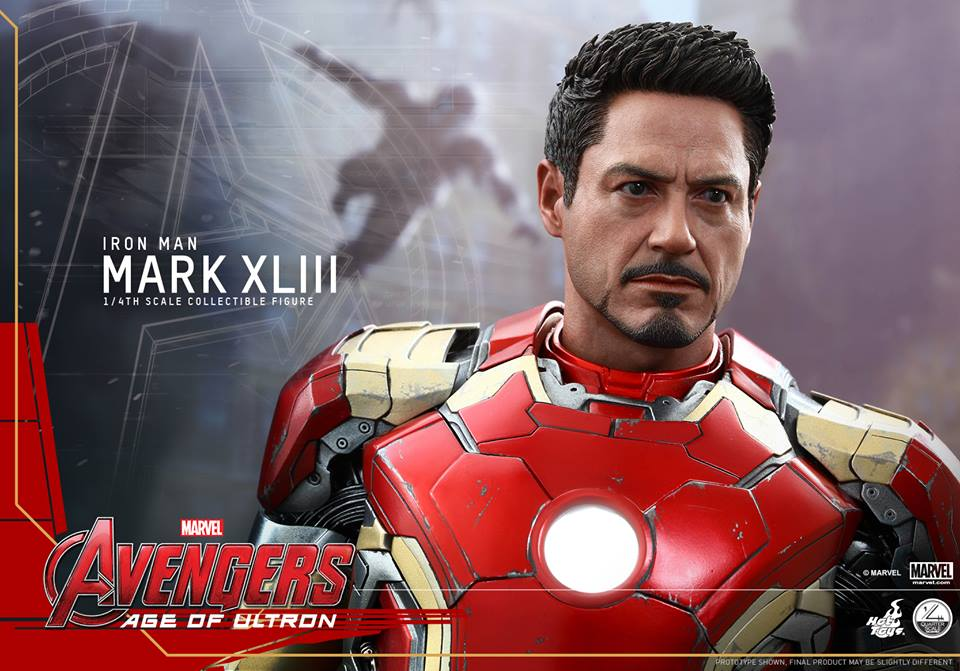 [Avengers: Age Of Ultron] Hot Toys 1/4 Iron Man Mark XLIII Official Photoreview No.29 Big Size Images, Full Info