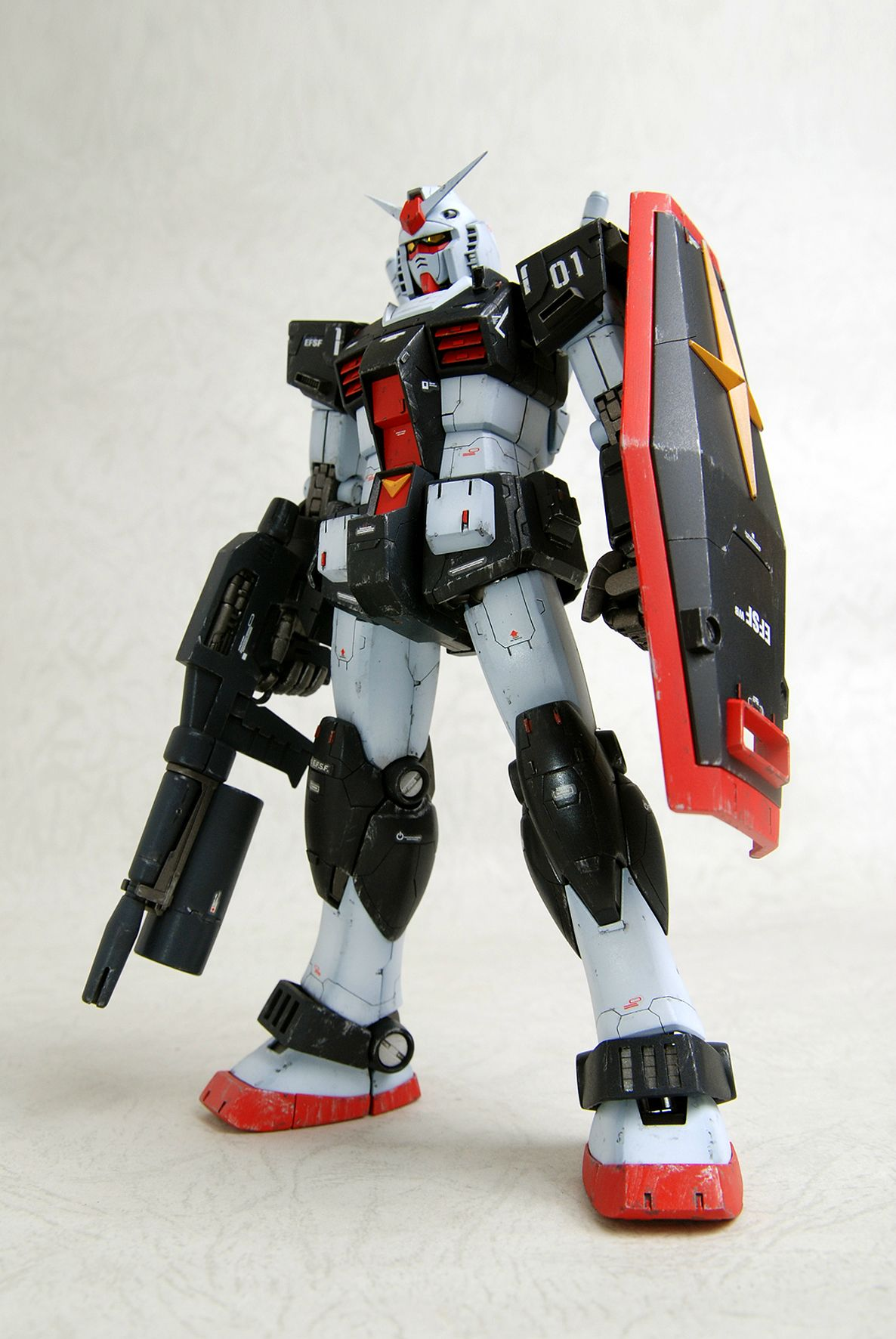 Remodeling Mg Rx 78 1 Gundam Work By 成真 Photoreview