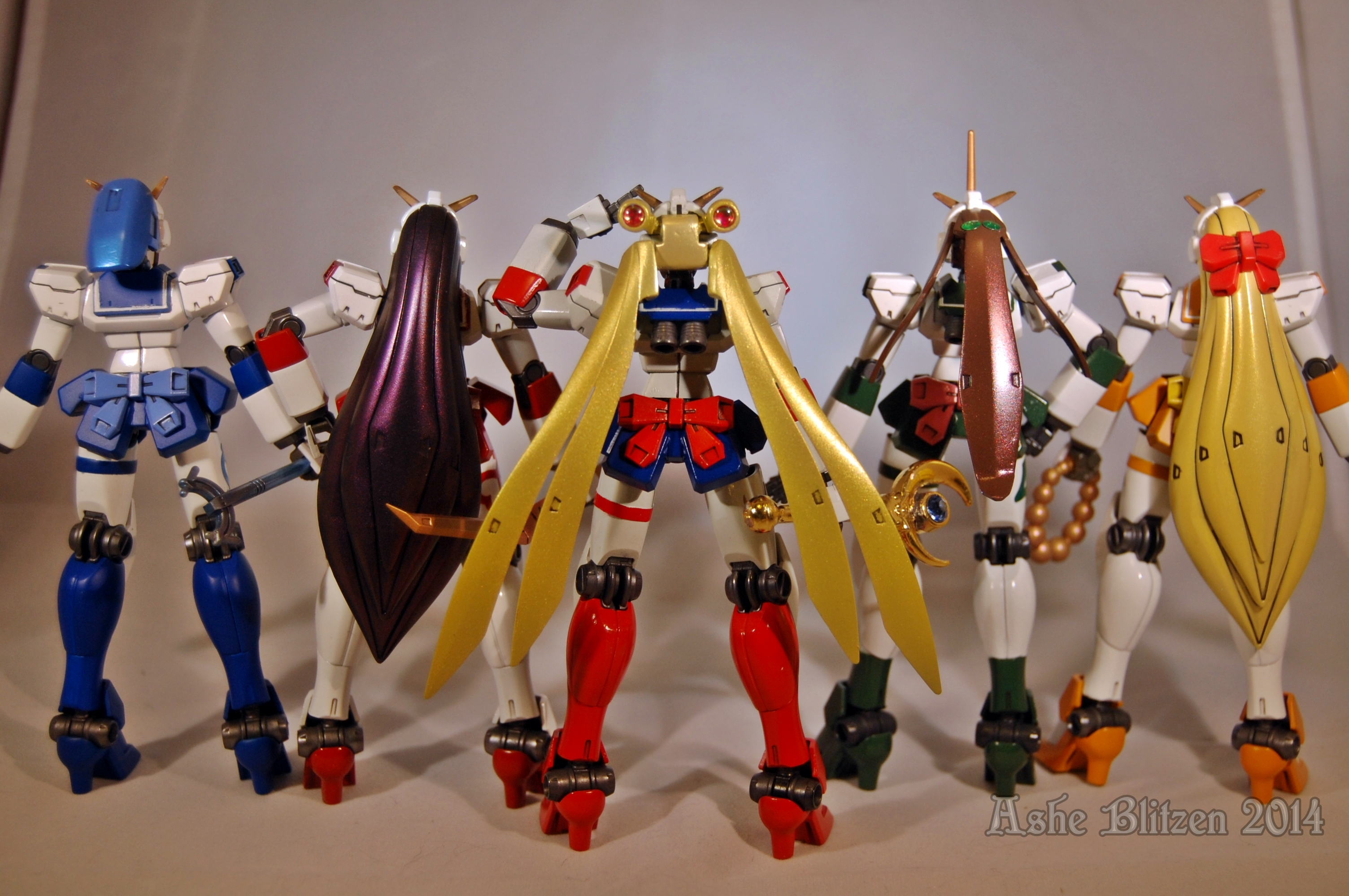 hg 1  144 nobel gundam  pretty guardian nobel project  amazing works by ashe blitzen  photoreview