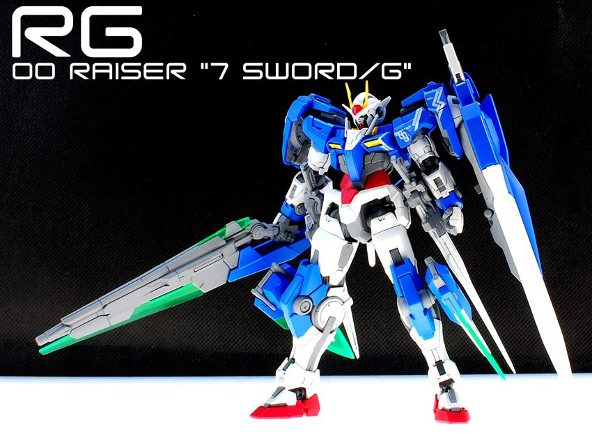 Rg 1 144 00 Raiser Seven Sword G Custom Latest Work By Sary Full Photoreview Gunjap