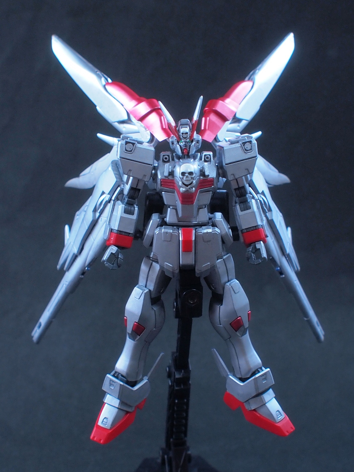 1 144 Crossbone Gundam Ghost Full Cloth Kai Custom Work