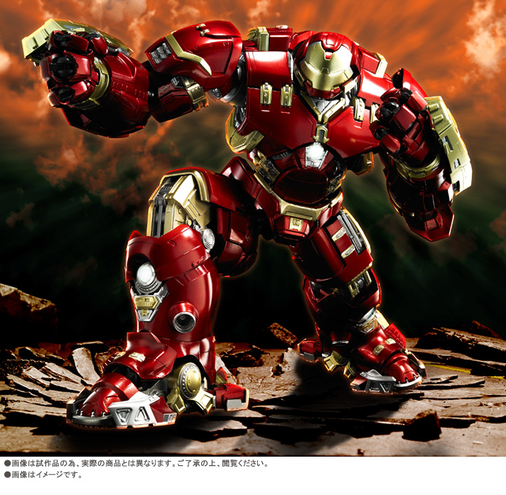 Tamashii Web Exclusive S.O.C. x S.H.Figuarts Iron Man Mark 44 HULKBUSTER: Official Images, Info Release