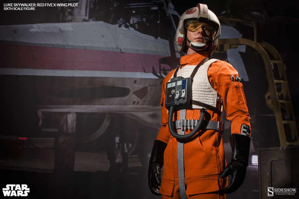 [Sideshow x Star Wars] Red Five X-Wing Pilot 1/6 Luke Skywalker: Official Photoreview No.17 Big Size Images, Info Release