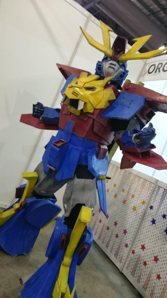 [COSPLAY] Singapore Chara Expo: GUNDAM TRYON 3 !!!!