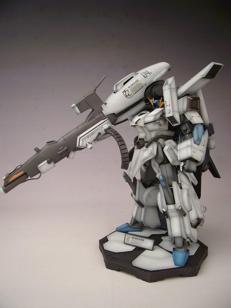 MG 1/100 Gundam FA-010A FAZZ: Latest Work by violent64 ...