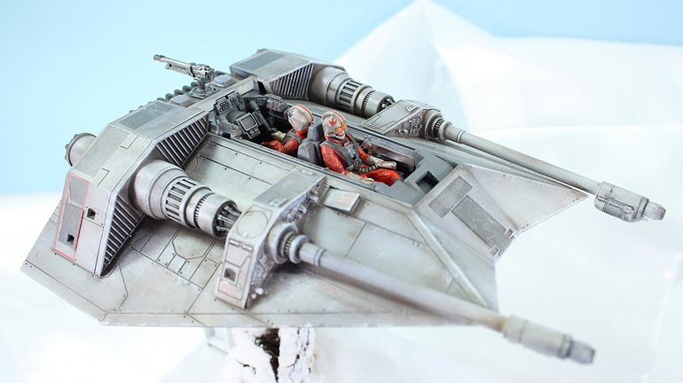 Bandai x Star Wars 1/48 SNOWSPEEDER: Work by KOMA-P PHOTO REVIEW