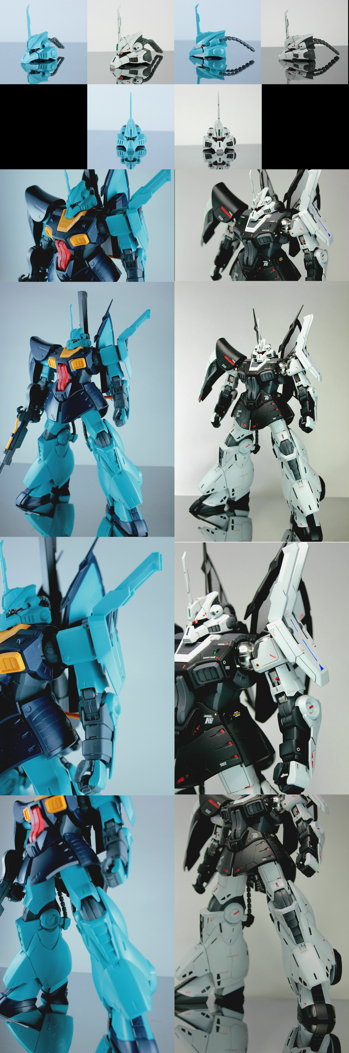 [PHOTO REVIEW] Amazing Improved RE/100 DIJEH Amuro Image Color Ver. Custom Work by Kouichi.