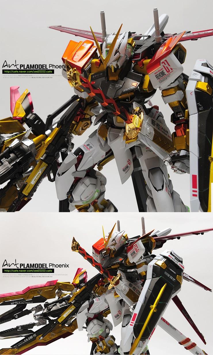 Amazing Pg Gundam Astray Ver Plamodel Art Full Photo Review Gunjap