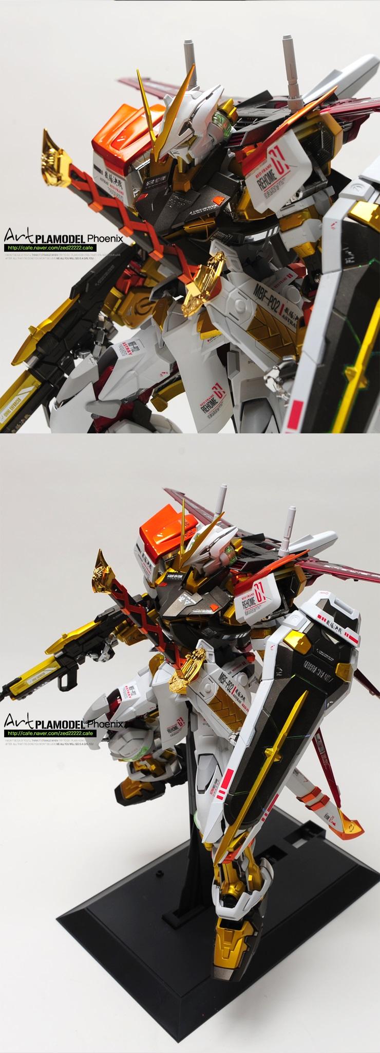 Amazing Pg Gundam Astray Ver Plamodel Art Full Photo