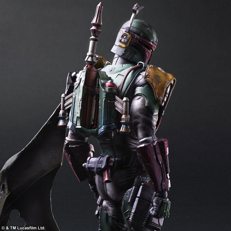 Star Wars Boba Fett Figure SquareEnix VARIANT Play Arts Kai Model New in Box