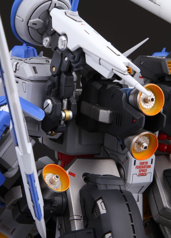 GS FA-78-1 Gundam HWS: Improved Work w/remote Control by 模灵 Full PHOTO REVIEW, Info