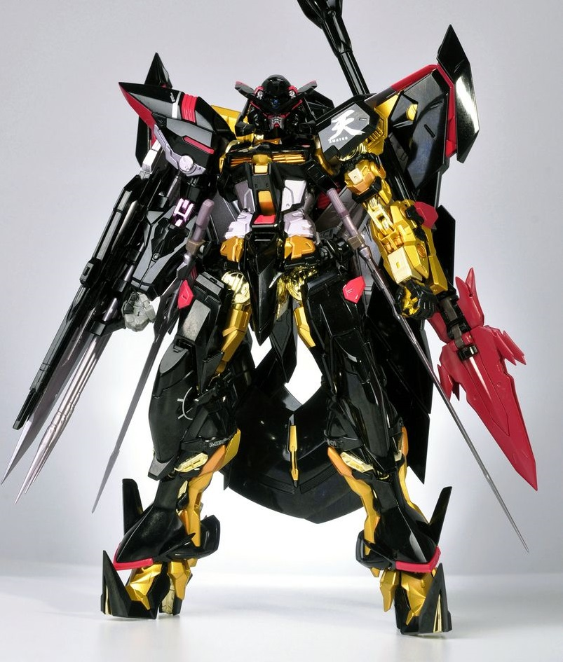 METAL BUILD Gundam Astray Gold Frame Amatsu Mina: Very Detailed Full ...