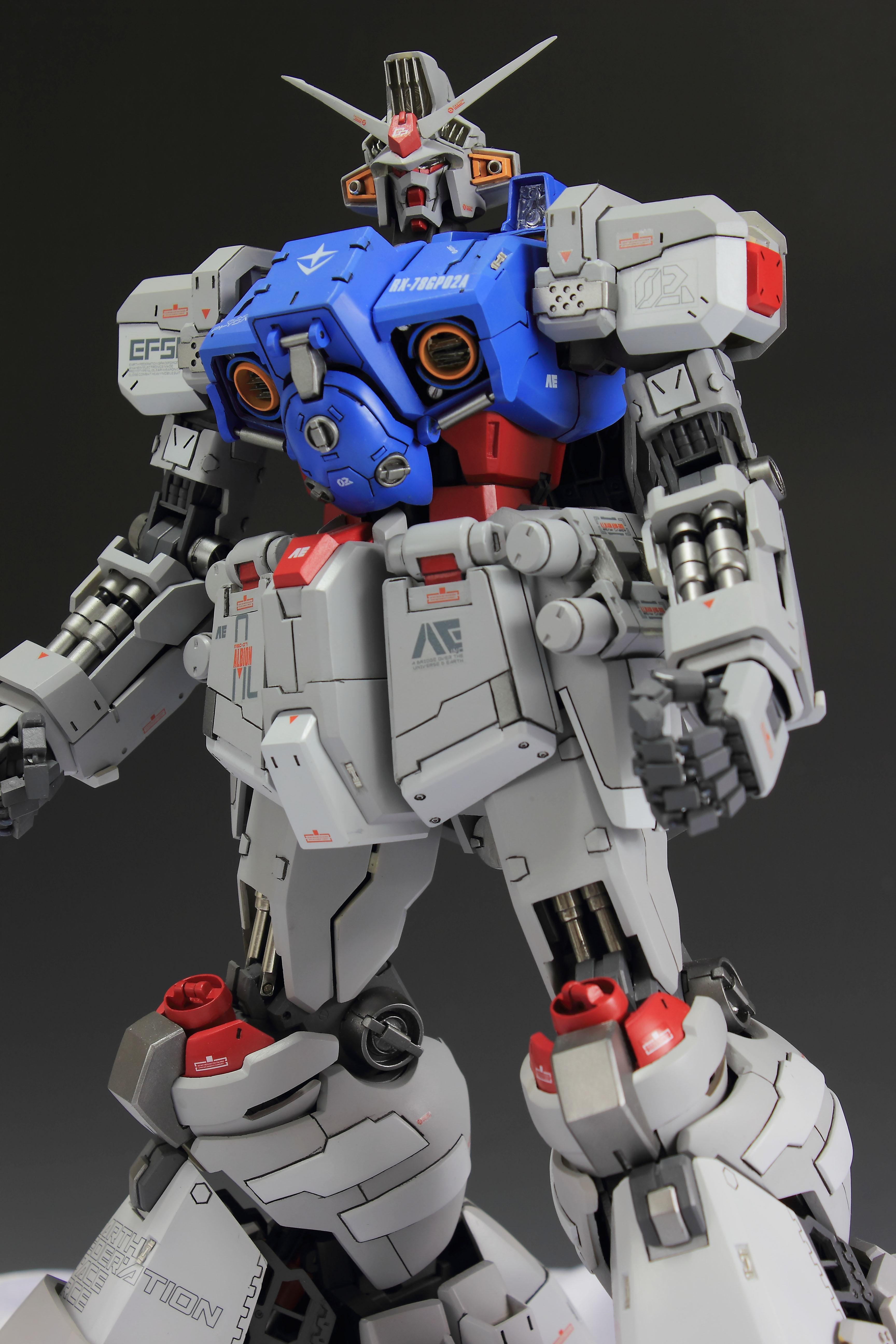 1/60 RX-78GP02A Gundam Physalis: Latest Work by ashescai ...