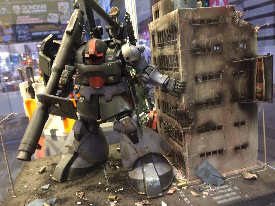 Gunpla Builders World Cup [GBWC 2015 HONG KONG] Diorama and Customized Gunpla! PHOTO REPORT by Yaya. No.42 Big Size Images + Yaya Interview [English and Chinese Version]!