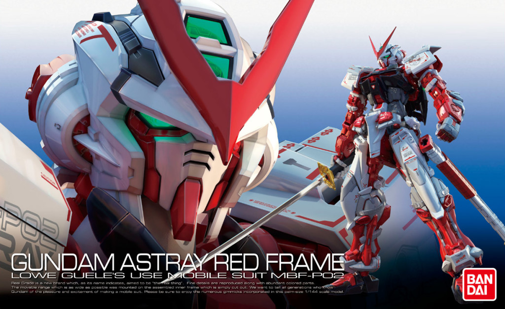 [UPDATE] RG 1/144 Gundam Astray Red Frame: added Box Art, Official Promo Video, Mecha Designs, Info Release