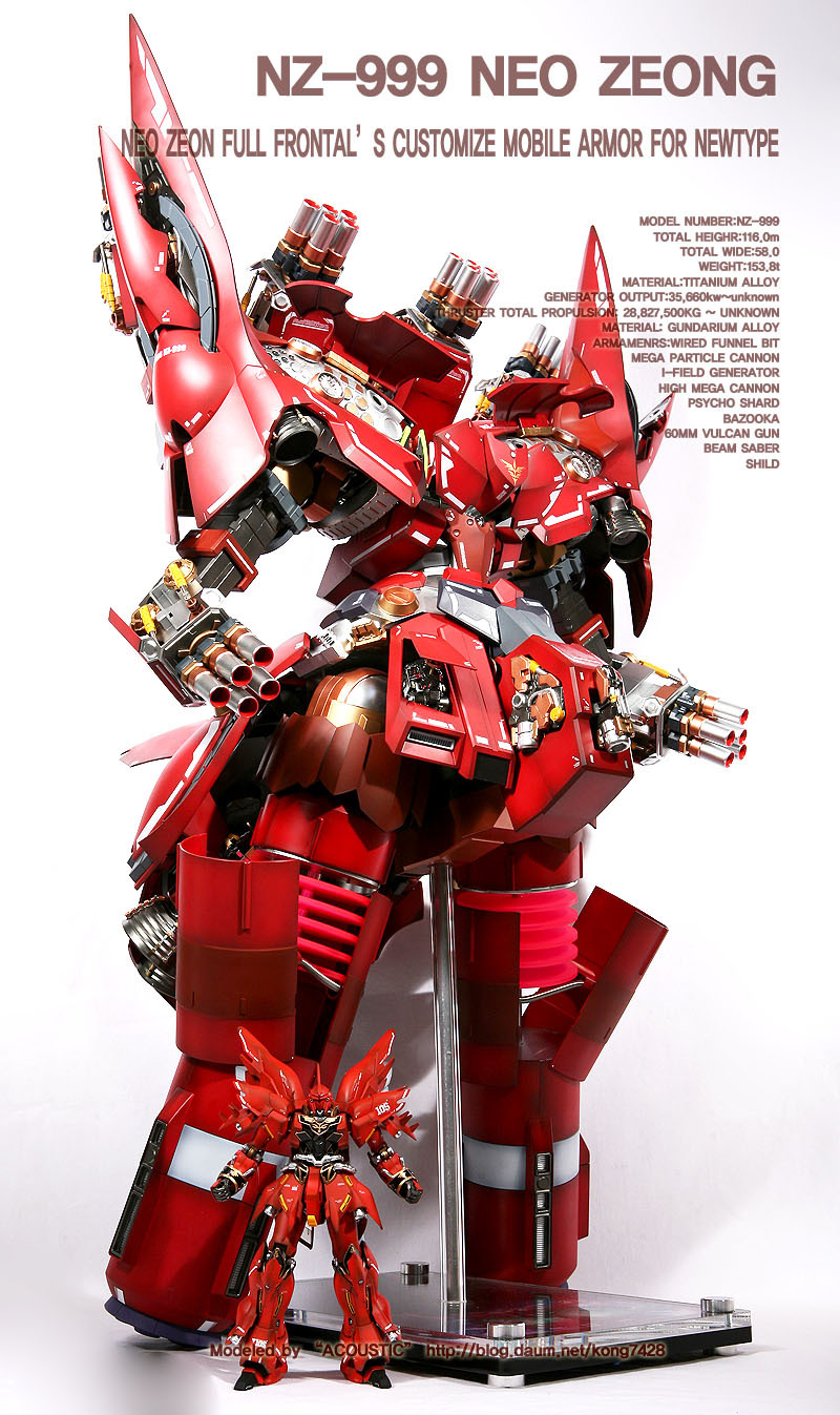 HGUC NZ-999 NEO ZEONG Full Hatch Open Custom! Latest Work