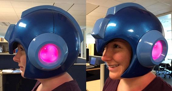 Wearable Mega Man Helmet Replica: Images, Full English Info, Official Capcom Store Link