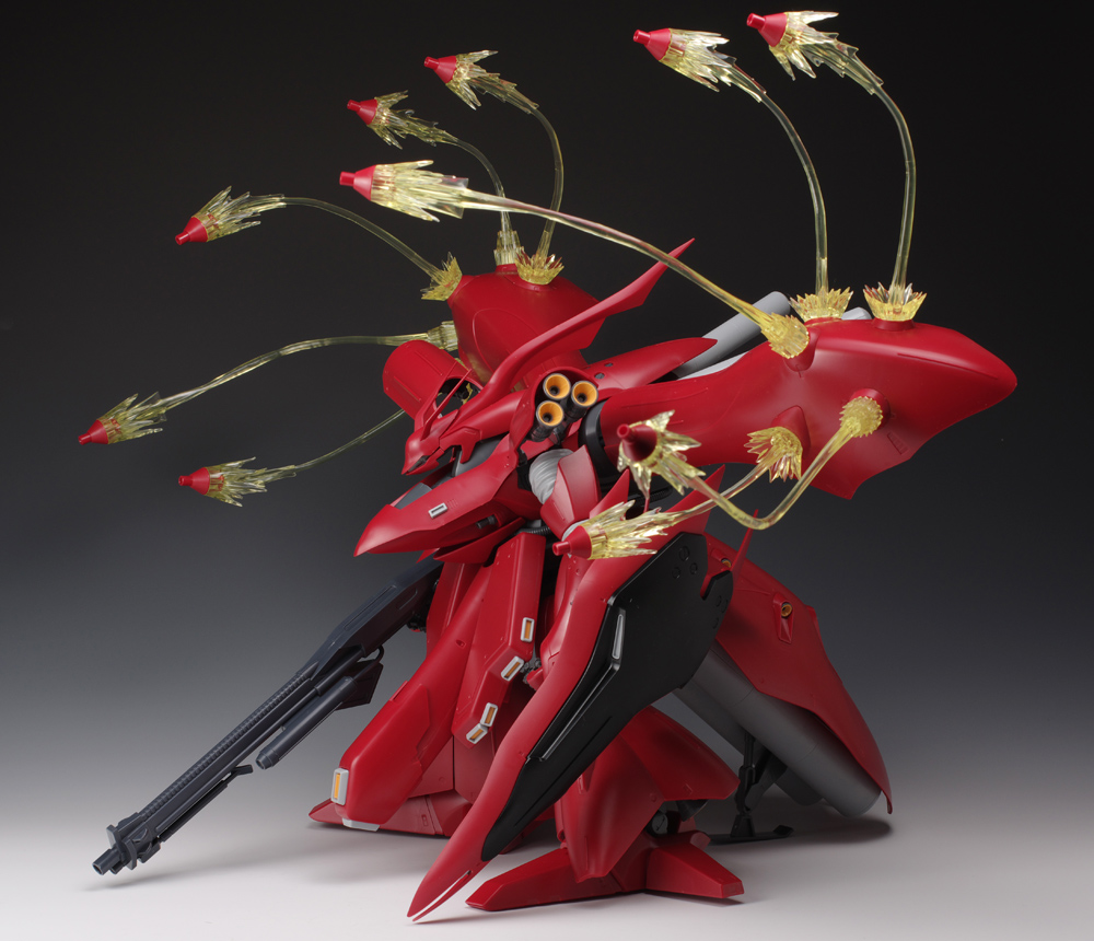P-Bandai Expansion Funnel Effect Set for MG Sazabi Ver. Ka and RE/100 Nightingale: Full PHOTO REVIEW No.26 Big Size Images, Info