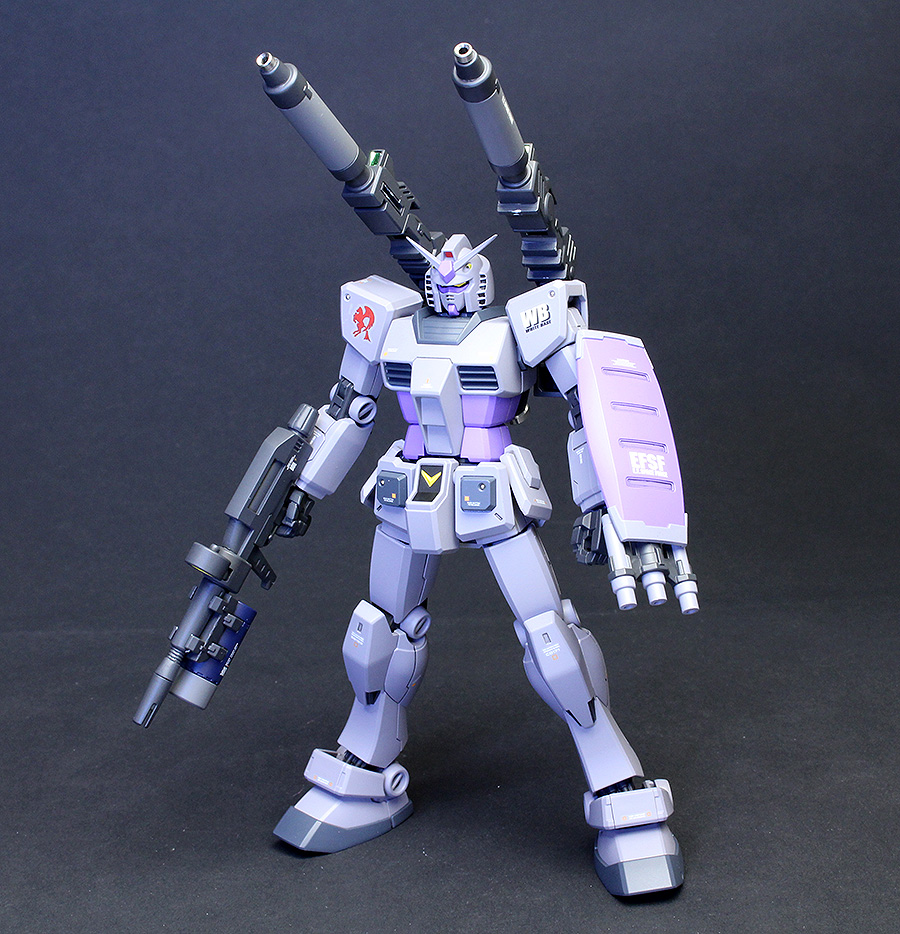 HGUC REVIVE RX-78-3 Gundam G-3 + Weapons Set: Latest Custom Work by TAI's Factory. Full PHOTO REVIEW No.20 Big Size Images | GUNJAP
