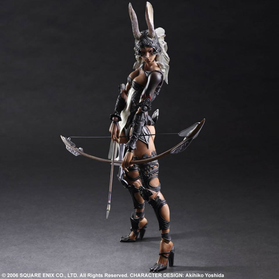 [Final Fantasy XII] Play Arts Kai FRAN: Preview Official Images