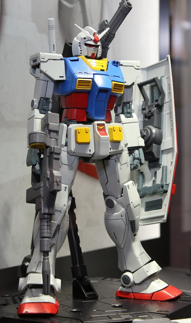 Mg 1 100 Rx 78 Gundam Gundam The Origin On Display