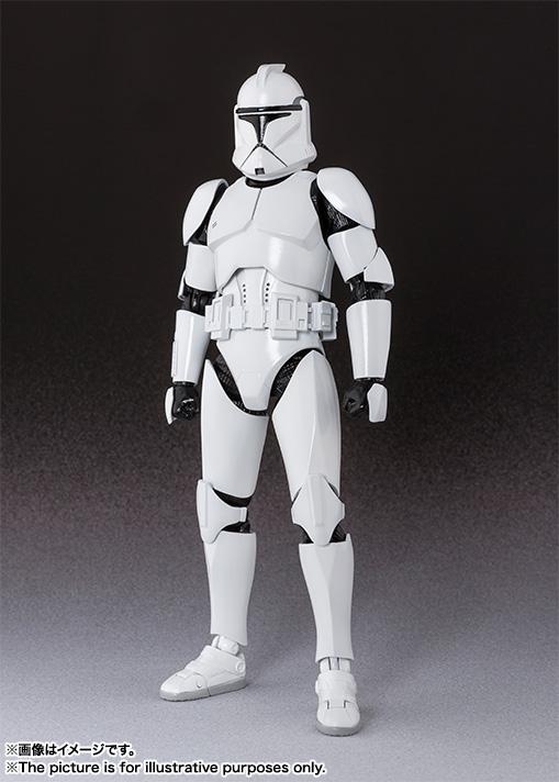 Bandai X Star Wars S H Figuarts Clone Trooper Phase 1