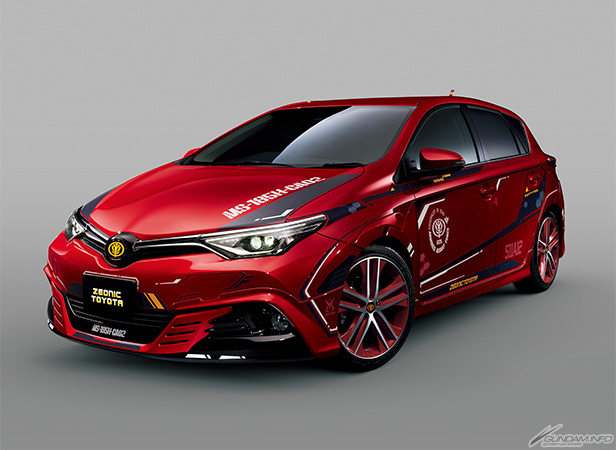 Toyota Official Site >> UPGRADED TOYOTA MS-185H-CA02 AURIS II CHAR AZNABLE'S CUSTOM: Full Official REVIEW. Released 1st ...