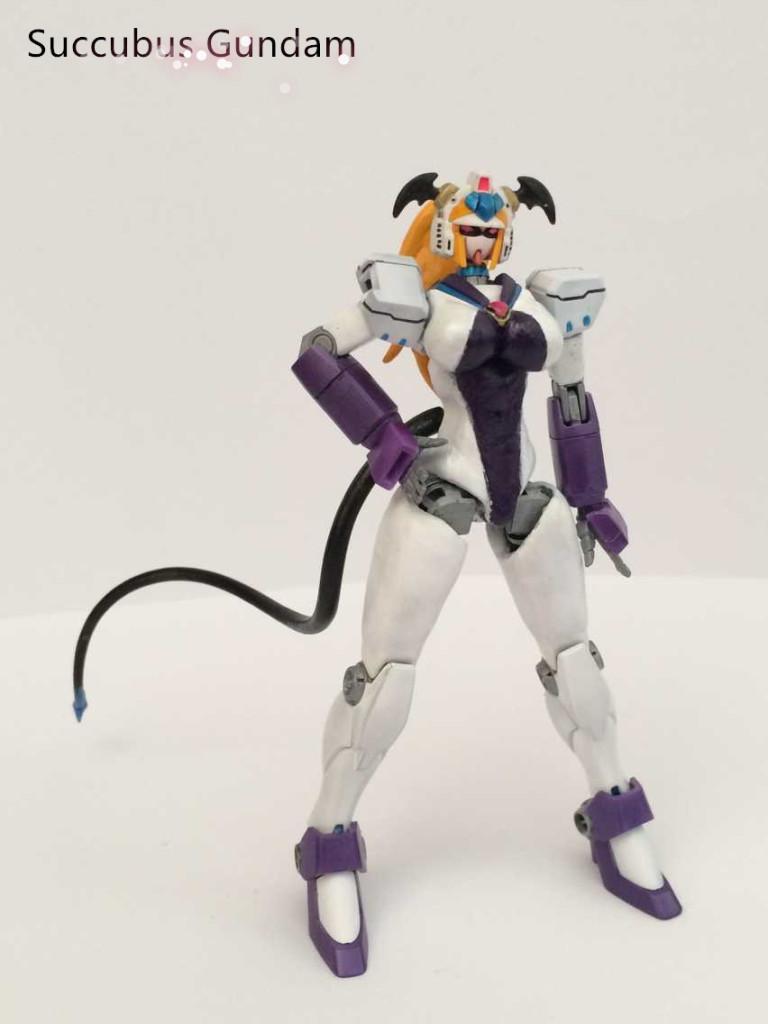 1 144 Nobel Gundam Succubus Gundam Custom Review Gunjap