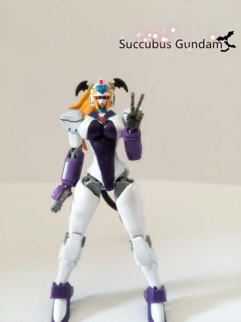1/144 Nobel Gundam SUCCUBUS GUNDAM Custom: REVIEW | GUNJAP