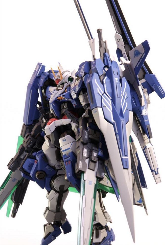 Gbwc 2015 Japan Oo Xn Raiser Xiii Sword G 00 Gundam Custom Build Entry Work By Ebichang Rnc7