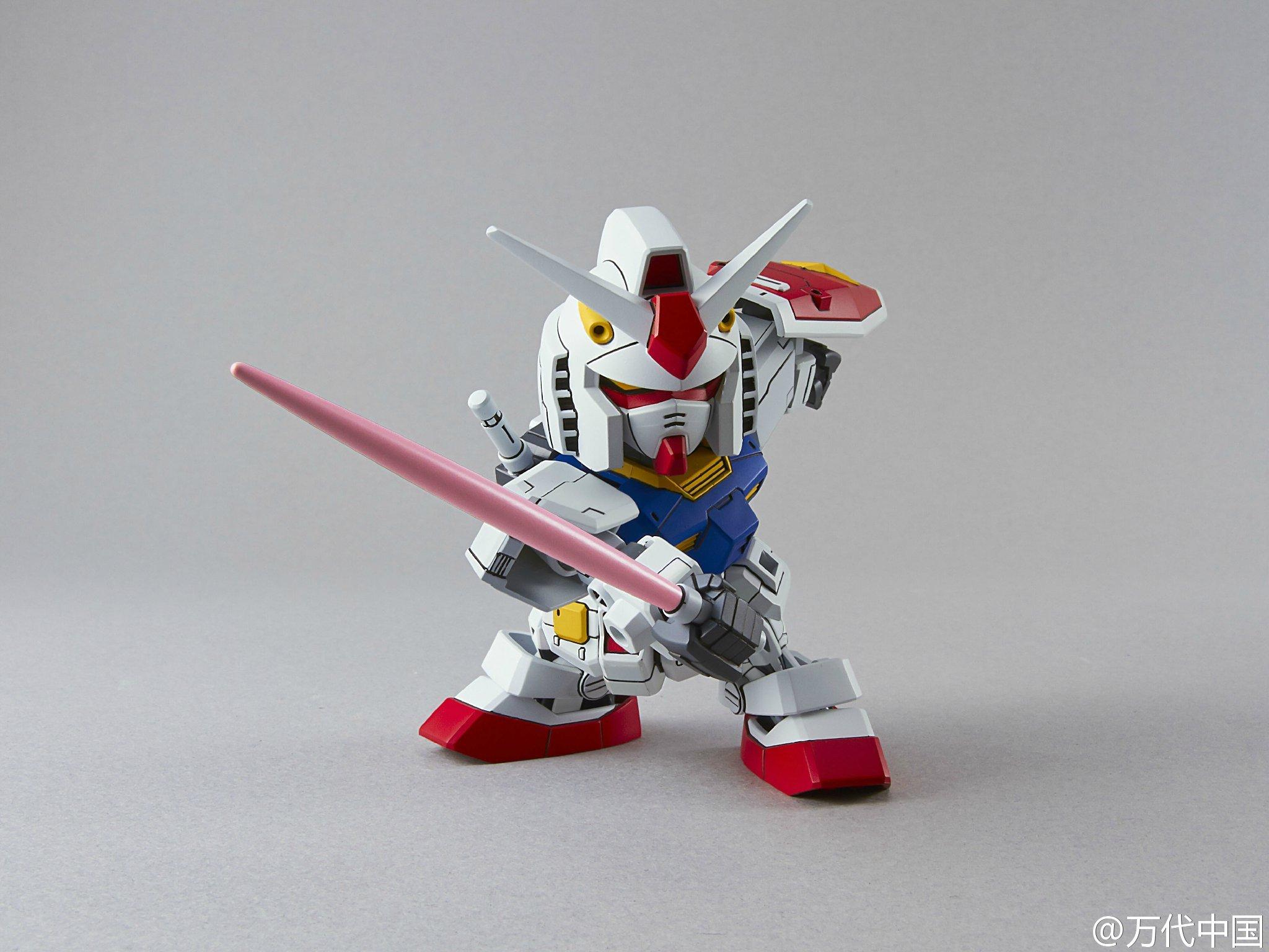 Sd Gundam Ex Standard Rx 78 2 Gundam Added Box Art