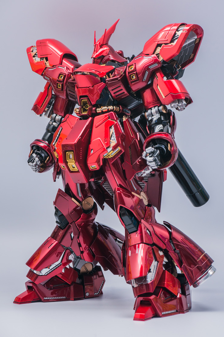 mg 1  100 sazabi ver ka custom paint  detailed  full photo review   wip  info