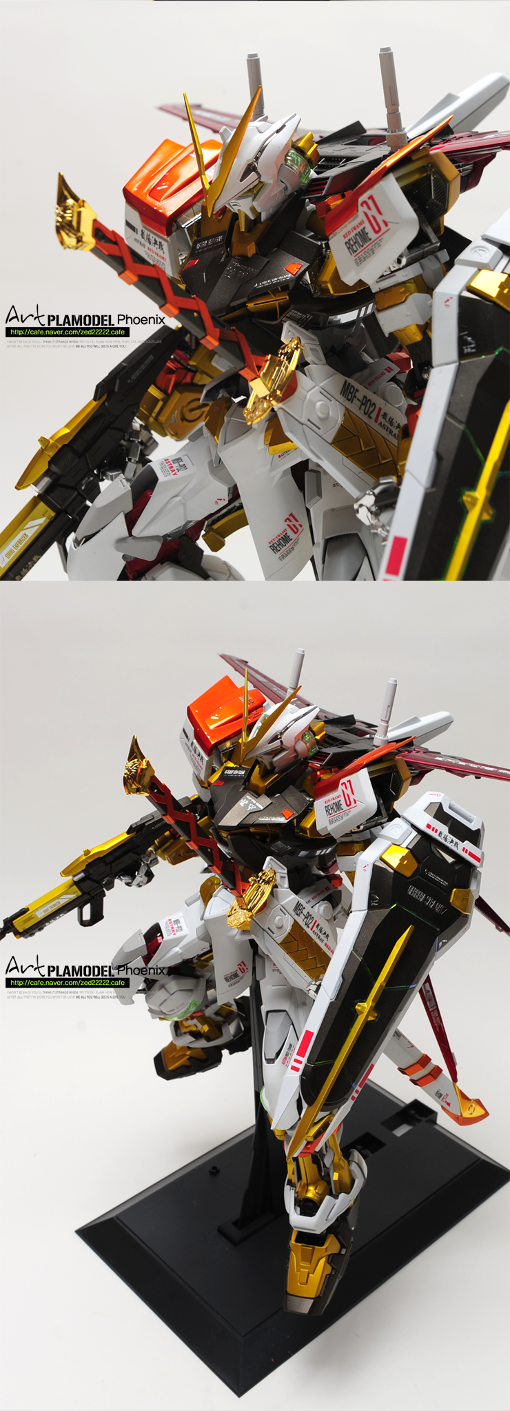 Pg 1 60 Gundam Astray Ver Limited Color Tactical Weapons Custom By Art Plamodel Phoenix Full