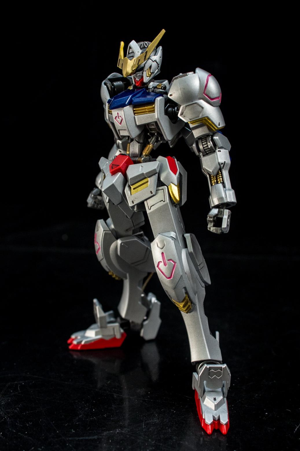 xterry's HG 1/144 Gundam Barbatos Ver.Silver: Photoreview ...