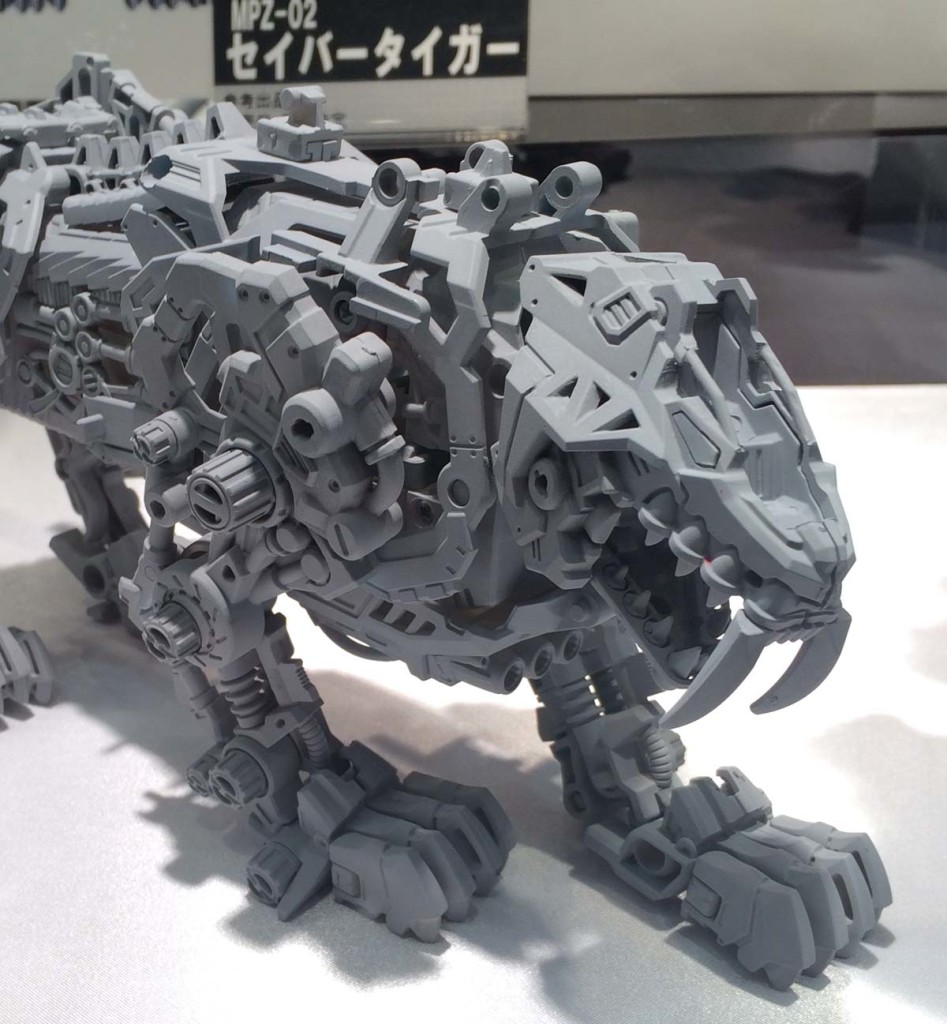 Takara-Tomy ZOIDS Masterpiece Series: SHIELD LIGER on display @ All Japan Model and Hobby Show. Big Size Images