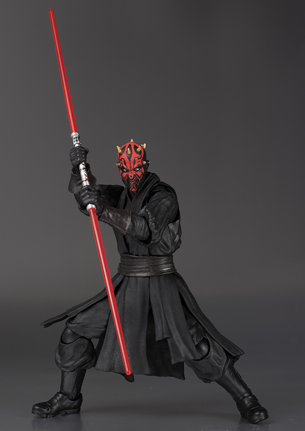 S.H.Figuarts Series Bandai x Star Wars: DARTH MAUL Full REVIEW No.41 Big Size Images, Info
