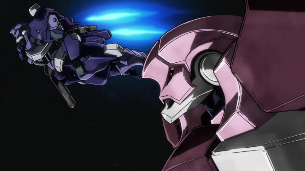 """Gundam Iron Blooded Orphans episode 7 """"Whaling"""" No.55 Hi resolution Screens from the Anime [Without Watermarks], Info"""