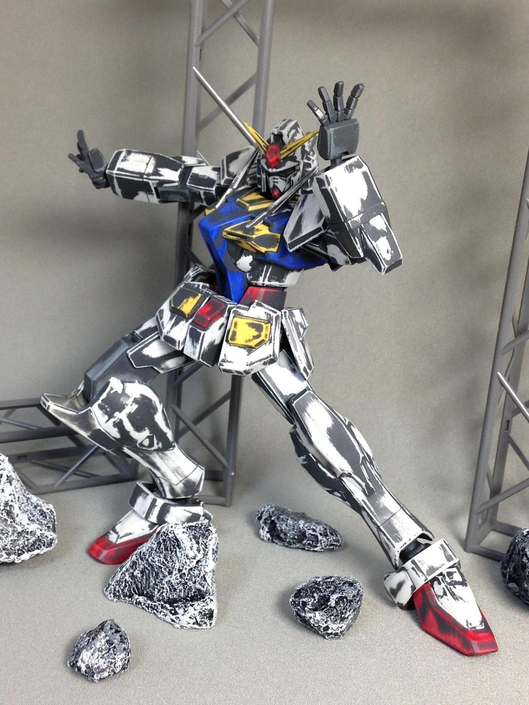 Don't paint your gunpla, use Sandpaper! O Gundam Ver ...