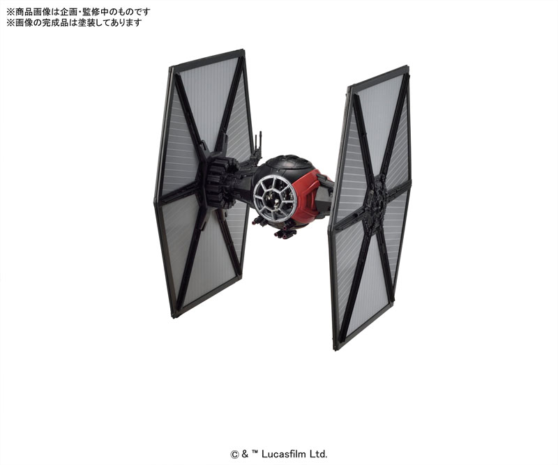 Bandai x Star Wars The Force Awakens: 1/72 First Order Special Forces TIE Fighter. First Official Images, Info Release