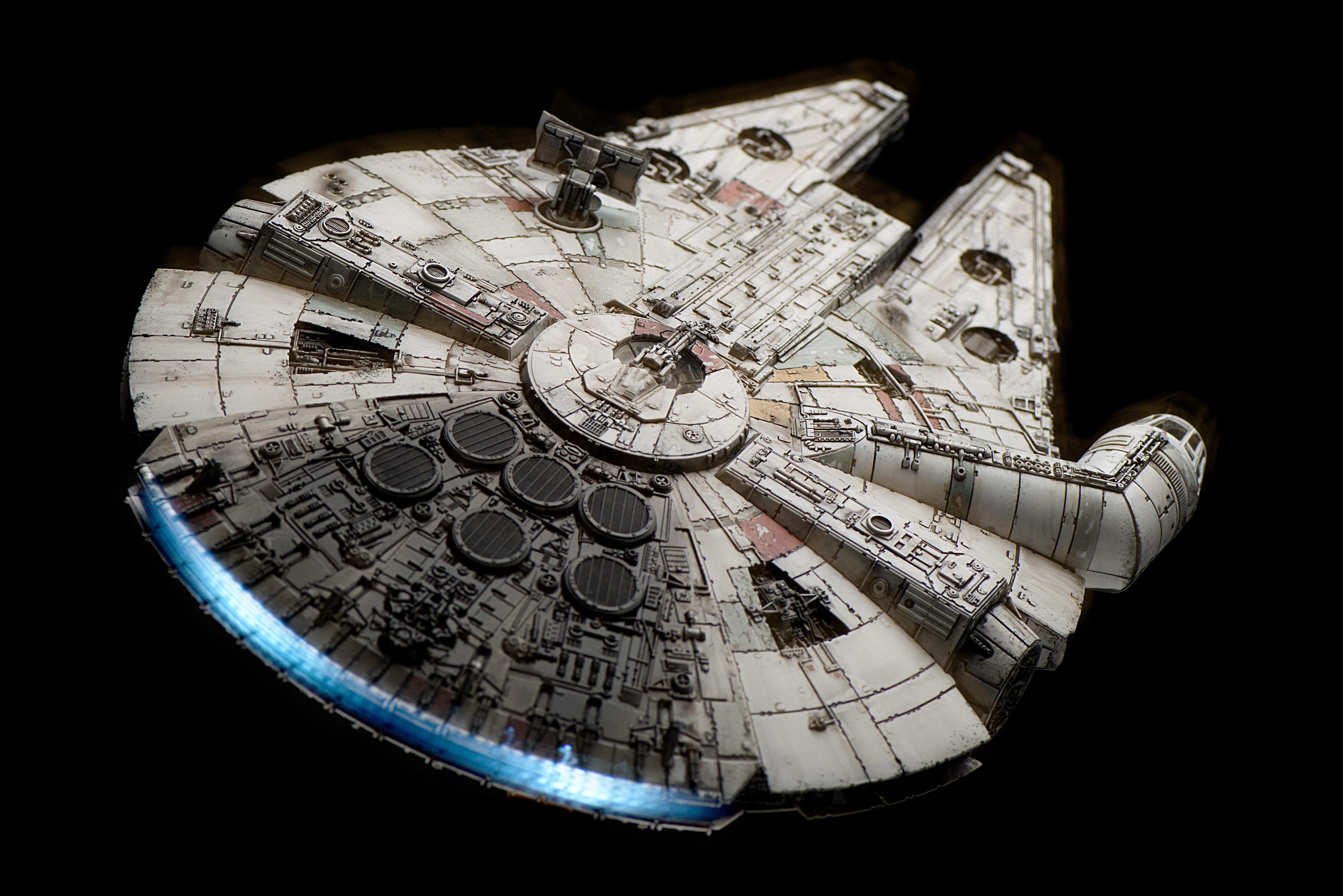 bandai x star wars the force awakens 1 144 millennium. Black Bedroom Furniture Sets. Home Design Ideas