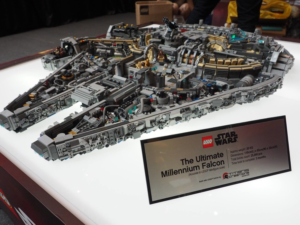 10 000 Lego Bricks Lego The Ultimate Millennium Falcon