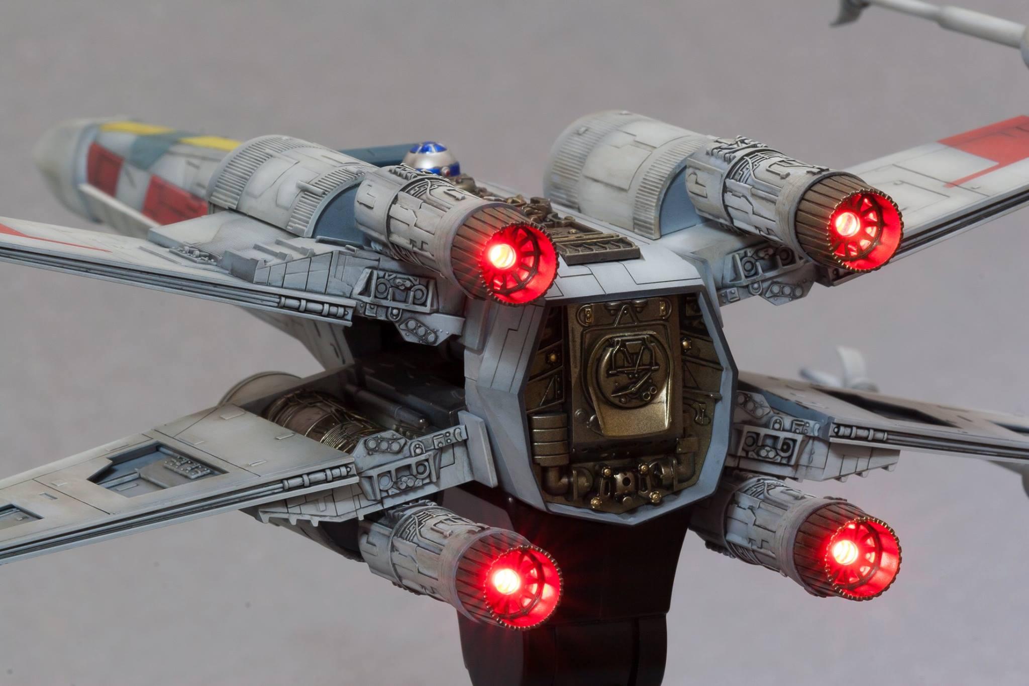 x wing starfighter