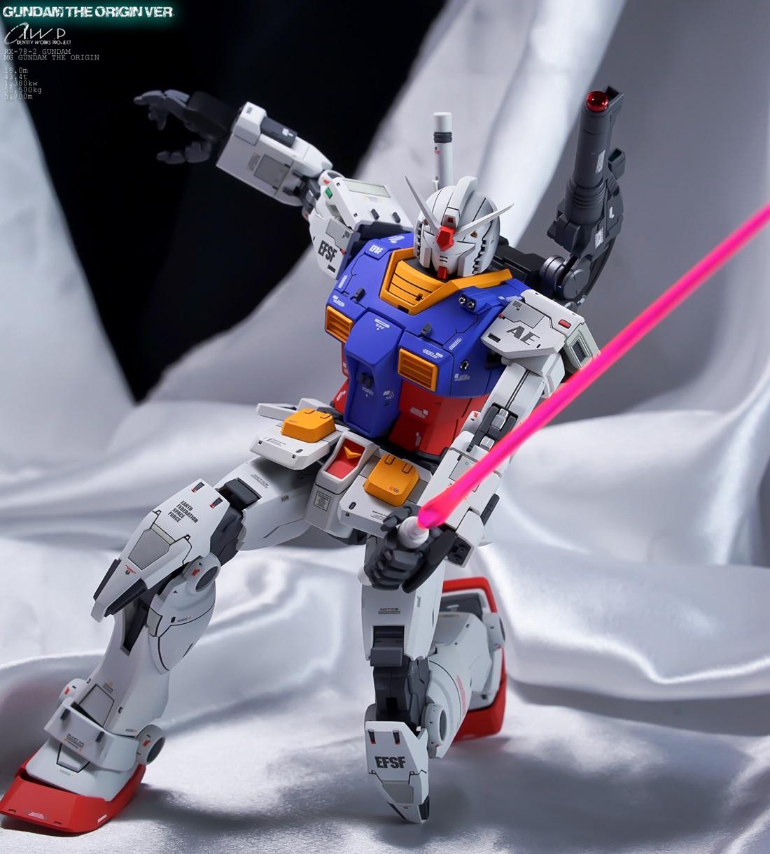MG 1/100 RX-78-02 Gundam [Gundam THE ORIGIN] - Painted