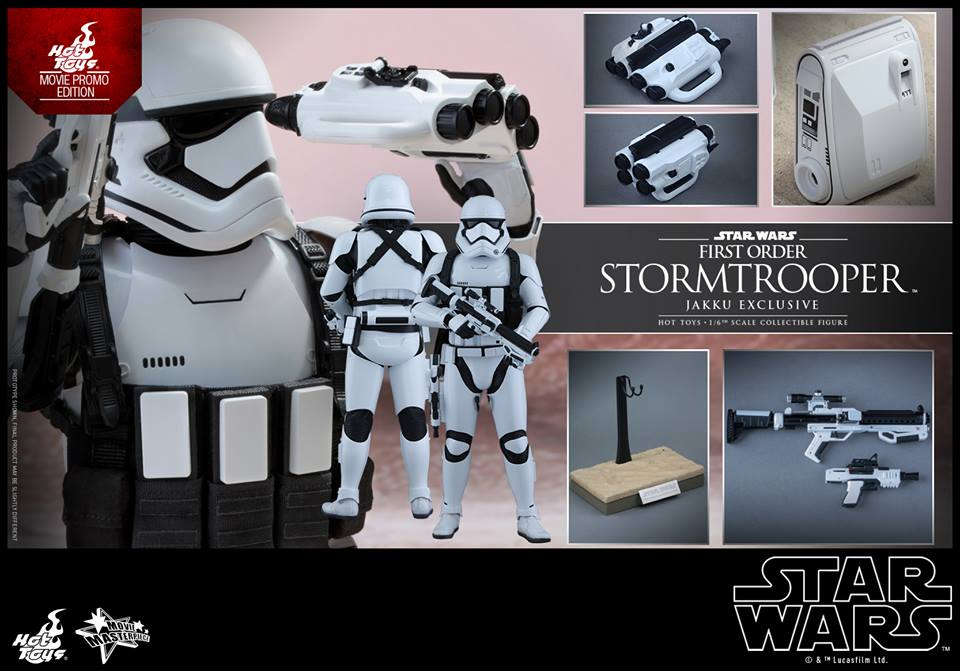 HOT TOYS x Star Wars The Force Awakens 1/6 First Order Stormtrooper Jakku Exclusive: Official REVIEW, Info Release