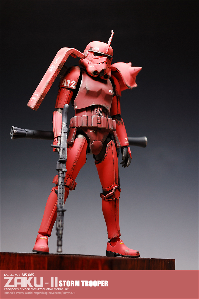 When Gundam Meets Star Wars  Kunyho78 U20192 Custom 1  12 Zaku