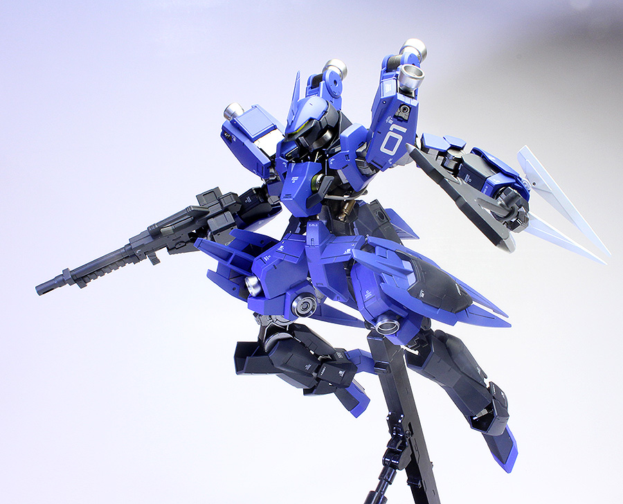 [TAI's Factory]'s 1/100 MCGILLIS'S SCHWALBE GRAZE painted build review
